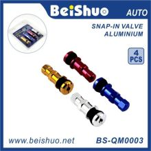Válvula colorida do pneu de carro 4PCS / Set