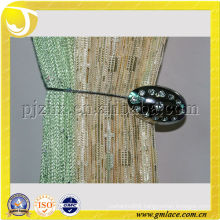 Metal Diamond Magnetic Curtain Hanger Clips Tiebacks for Curtain Decoration