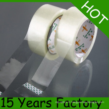 Rouleau jumbo de bande d'emballage auto-adhésif de 1280mm * 4000m BOPP (offre d'impression)