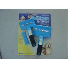 Toilettage et nettoyage pour animaux de compagnie à deux dimensions, brosse pour animaux de compagnie