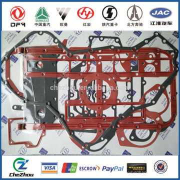 Dongfeng L375 lower gasket kit 4089759 for DCEC engine