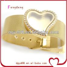 Nouveauté photo cadre coeur médaillon bracelet de ceinture 2014