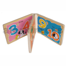 Wooden Number Book for Learing Numbers (80890)