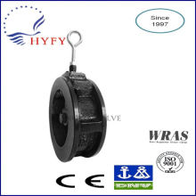 100% Leading dn300 cast iron wafer check valve
