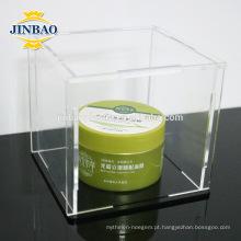 Jinbao fabricante de caixas de acrílico transparente atacado 3mm 5mm
