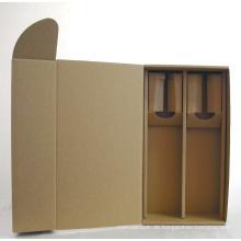 Einzigartiges Design Karton Wein und Wein Paket