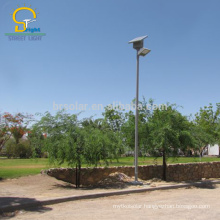 30W LED Solar Street Lamps, Design with battery on the top of the pole