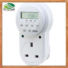 UK Electric Outlet Digital Timer