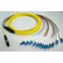 MPO à LC cordons de raccordement Câble MTP fanout mini cable FTTH