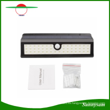 44 LED Nuevo diseño Motion Sensor Garden Exterior Solar LED Aplique