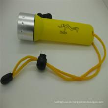 Online-Shop heiße LED Tauchen Fackel, führte Taucher Fackel, Tauchen Taschenlampe