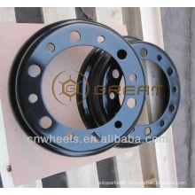 Utility Forklift split wheel rim , 4.33R-8 forklift wheel
