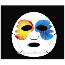 Customized printing face mask sheet colorful OEM / ODM
