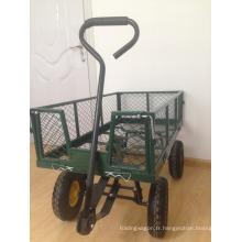 wagon d'outils de jardinage