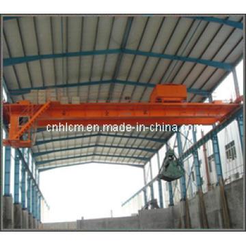 Double Girder Overhead Crane with Grab