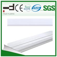 Blanco Decoración para el hogar Laminate Flooring Skirting