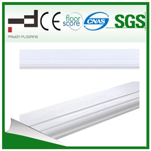 White Home Decoration Laminate Flooring Skirting
