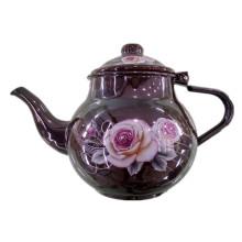 Кухонная посуда, Чайник с эмалевым покрытием, Чайник с эмалью, Чайник с эмалевым покрытием