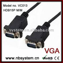 Conjunto de cabos D-sub de 9 pinos