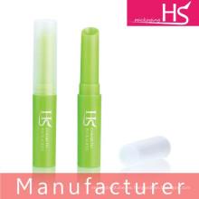 Fabricante de maquillaje de plástico vacío bálsamo de labios de embalaje