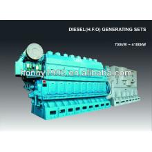 2500kW 600RPM Generator Slow Speed Diesel Engine
