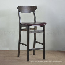 Restaurant Retro Wood Bar Stool with Backs (SP-HBC252)