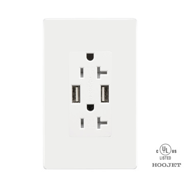 Wall USB Socket 20A