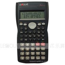 12 + 10 Ziffern 240 Funktion 2-zeiliges Display Scientific Calculator mit aufgeschobener rückseitiger Abdeckung (LC750A)