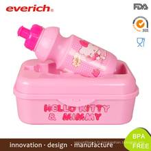 Everich New Design BPA Free Children Bento Lunch Box