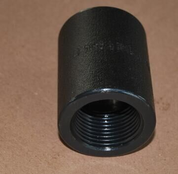 Forged threaded coupling