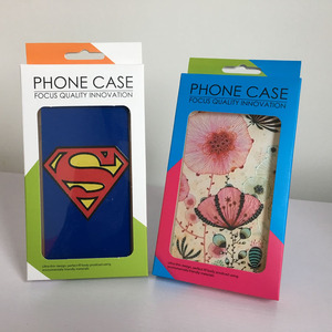 Custom cell phone case packaging