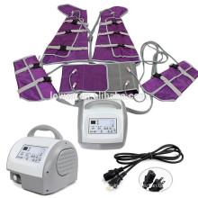 Uso del salón de los equipos de la aptitud Sistema de adelgazamiento del cuerpo del infrarrojo lejano de la presoterapia, presoterapia infrarrojo lejano y electroestimulación
