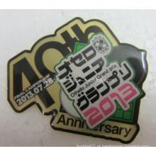 Quick Produzido Metal Cmyk Impressos Lapel Pin Badge (badge-105)