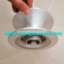 Wire Cable Rope Pulley Block Aluminum Wheel