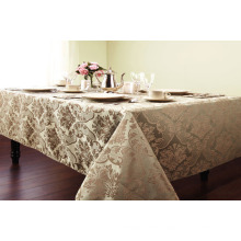 Waterproof Tablecloth with Non-Woven, Flannel Backing