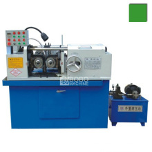 Automatic hydraulic thread rolling machine for thread rod making