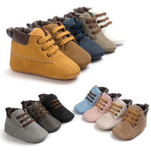 12 Color 0-1year Baby Warm Shoes Soft Sole Infant Toddler Moccasins
