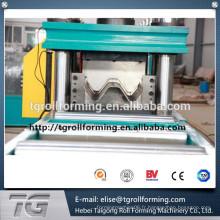 Machine de formage de rouleaux de garde-route (deux vagues) avec un processus de commande facile