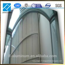 Miroir en tôle d'aluminium pour industrie légère