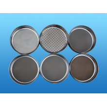 Lab test sieve for powder granule liquid materials