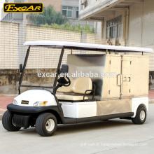 prix voiture de golf électrique avec fret, voiture de l'hôtel