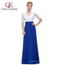 GK Mujeres Occidentales Atractivas Mujeres De Medias Manera De Empalme De Empalme Alto Split Vestido Largo CL009717-2