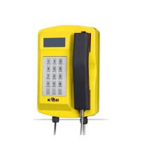 Impermeable resistente a la lluvia fundido a distancia teléfono con teclado y LCD