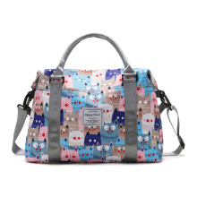High Capacity Lady Customized Shoulder sports Bag Travel Hand bag leisure weekend travel bag