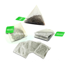 Single Tea Bag OEM Double Chamber Tea Bag Triangle Tea Bag