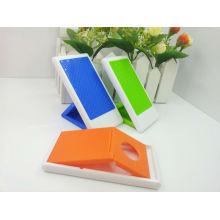 Plastik-Anti-Rutsch-Klapptischtelefon-Standplatz / lustiger Handyhalter / Plastiktelefonhalter