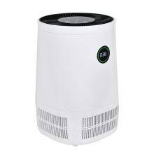 Table top personal led display screen mini portable HEPA home room desktop air purifier with air quality indicator