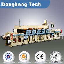 Maquinaria de impressão Flexo de papel autoadesivo de rolo estreito