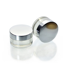 50g Food Grade PETG Sahneglas mit Aluminium Deckel