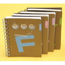 Spiral Binding Notebook with PP Hardcover